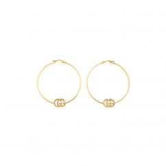 Gucci GG Running Hoop Earrings