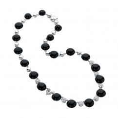 Chantecler Bon Bon Black Onyx Necklace, Exclusively at Hamilton Jewelers