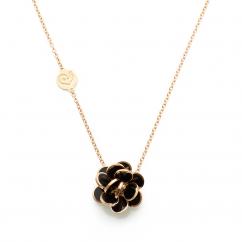 Chantecler Paillettes Black Enamel Pendant, Exclusively at Hamilton Jewelers