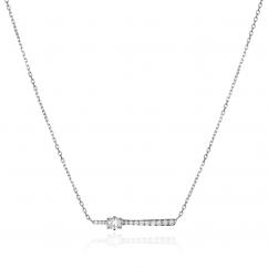Jade Trau 18k Gold Rae Diamond Pendant