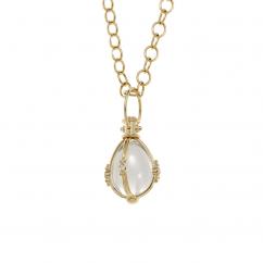 Temple St. Clair 18k Gold Amulet Pendant