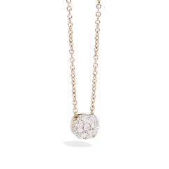 Pomellato Nudo 18k Gold and Diamond Pendant