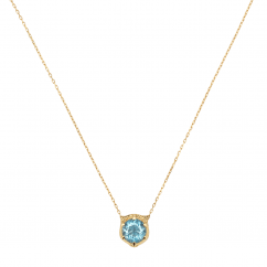 Gucci Le Marché des Merveilles and Aquamarine Necklace
