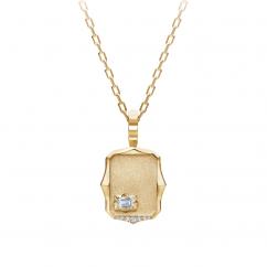 Jade Trau Vanguard Medallion Necklace