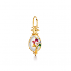 18K Yellow Gold Stella Rainbow Amulet