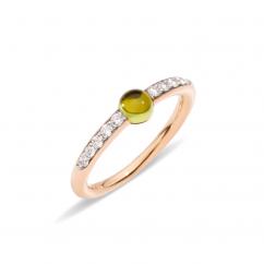 Pomellato M'ama non M'ama 18k Gold and Peridot Ring