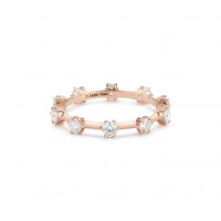 Jade Trau Kismet 18k Gold and Diamond Ring