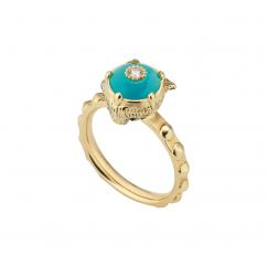 Gucci Le Marché des Merveilles and Turquoise Ring