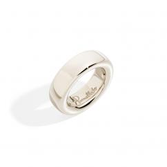 Pomellato Iconica 18k White Gold Ring