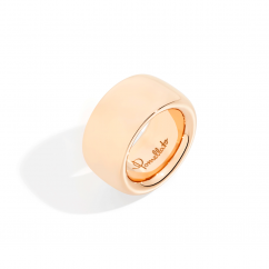 Pomellato Iconica Maxi 18k Rose Gold Ring