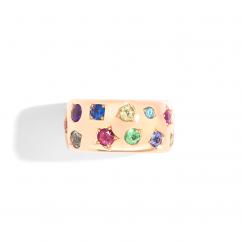 Pomellato Inconica 18k Rose Gold Color Ring