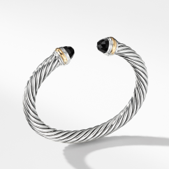 David Yurman Cable Classic Collection® Bracelet with Citrine and 14K Gold