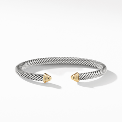 David Yurman Cable Classic Collection® Bracelet with 14K Yellow Gold