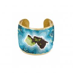 Artisan Evocateur New Jersey Map Cuff Bracelet