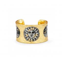 Artisan Evocateur Sun and Moon Cuff Bracelet