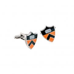 Hamilton Princeton University Enamel Cufflinks