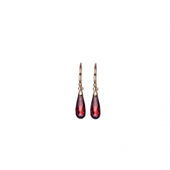 Calypso 14k Garnet Earrings
