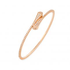 Marli Cleo 18k Rose Gold and Diamond Bracelet