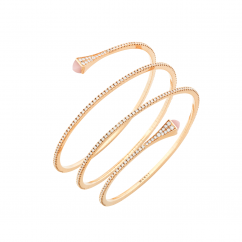 Marli Cleo 18k Gold and Diamond Bracelet