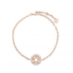 Nouvel Heritage Mystic Star 18k Rose Gold Bracelet