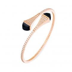 Marli Cleo 18k Gold and Black Onyx Bracelet