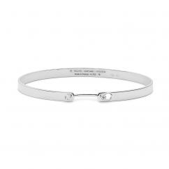nouvel Heritage 18k White Gold Monday Morning Mood Bracelet