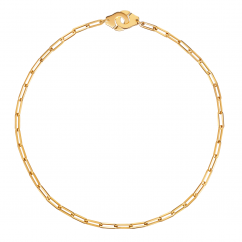 Dinh Van 18k Yellow Gold Menottes Necklace