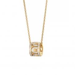 DAVIDOR L'Arc Bead, 18k Yellow Gold with Satin Finish and Palais Diamonds