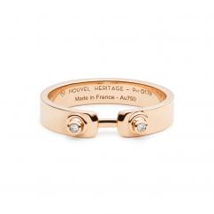 Nouvel Heritage 18k Rose Gold Monday Morning Mood Ring