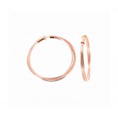 Pesavento DNA Spring Medium Earrings