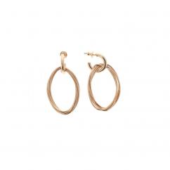 Pesavento DNA Spring Rose Gold Earrings