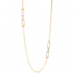 Roberto Coin Classica Parisienne Diamond Necklace