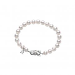 Mikimoto Akoya Pearl 8-7.5mm Bracelet