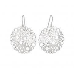 Sterling Silver Openwork Earrings