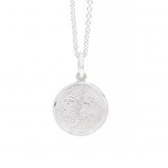 "Sterling Silver St. Christopher 3/4"" Medal"