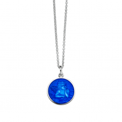Guardian Angel Small Royal Blue Pendant
