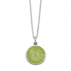 St. Christopher Kiwi Enamel Medal