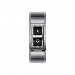Chanel Code CocoSteel Diamond Bezel Watch H5145