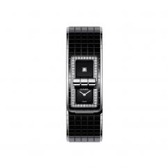 Chanel Black Coco Code Diamond Watch H5148
