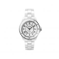 Chanel White Ceramic J12 H5700