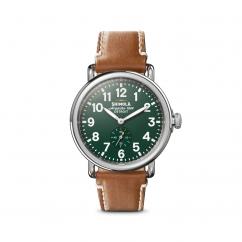Shinola The Runwell 41mm Green Dial 10000026-SDT-000009876