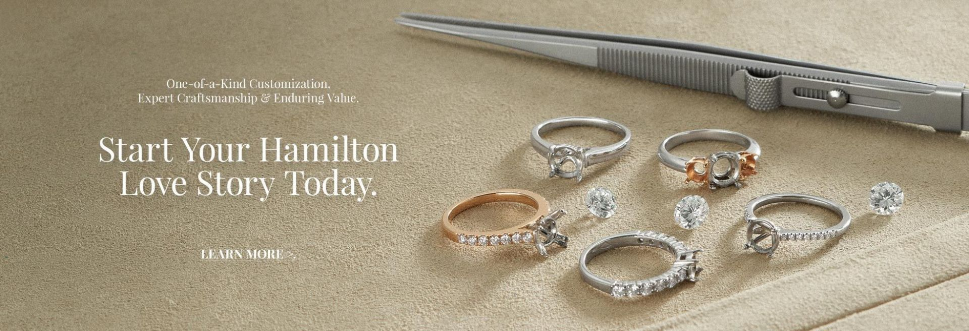 Start Your Hamilton Love Story Today