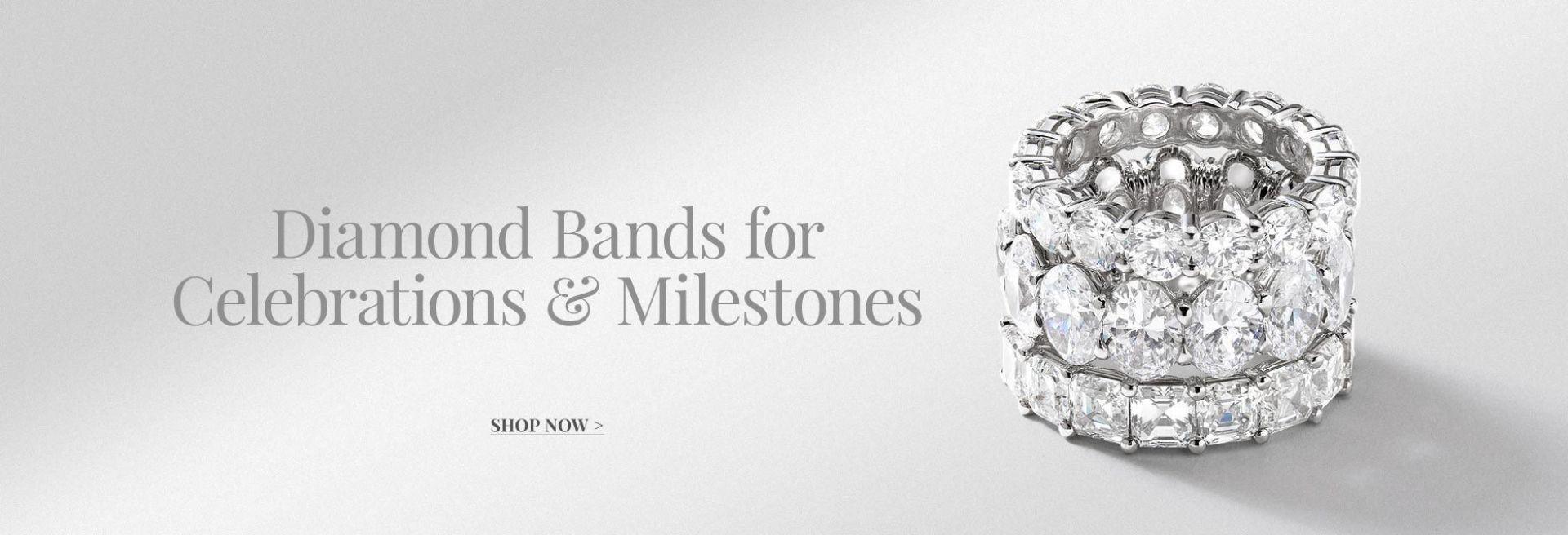 Diamond Bands For Celebration and Milestones